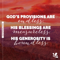 God provision